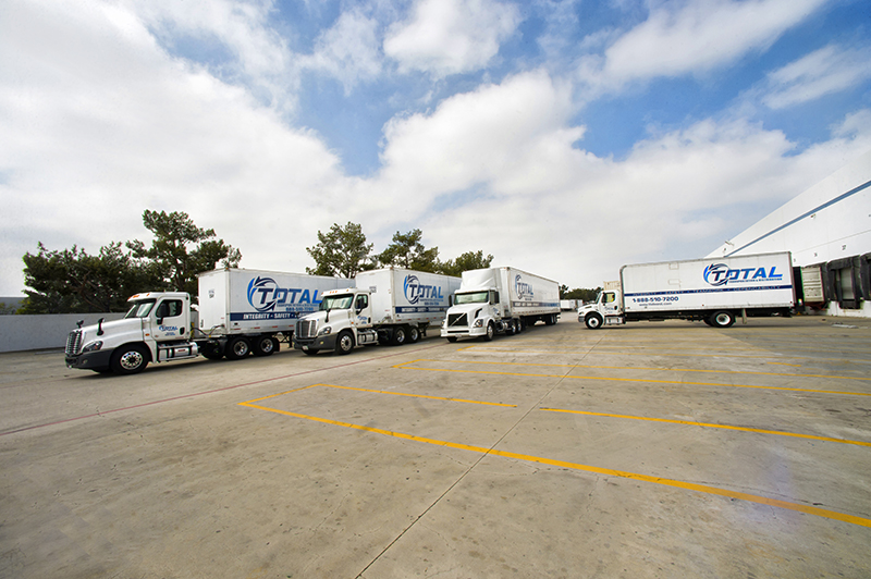 LTL Trucking Los Angeles, San Diego | Trucking Services in