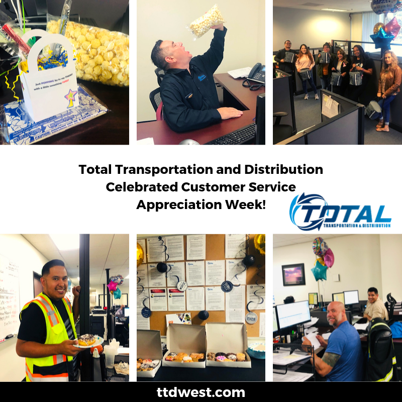 customer service appreciation week